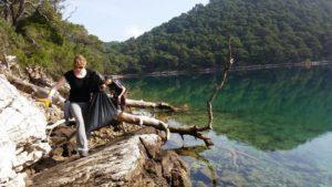 Week long volunteer action of cleaning Mljet National Park bays