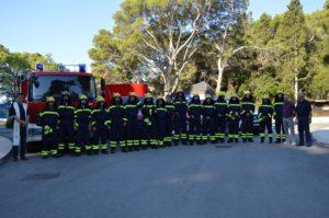Održana vatrogasna vježba i blagoslovljena vatrogasna postrojba DVD Montokuc nacionalnog parka Mljet