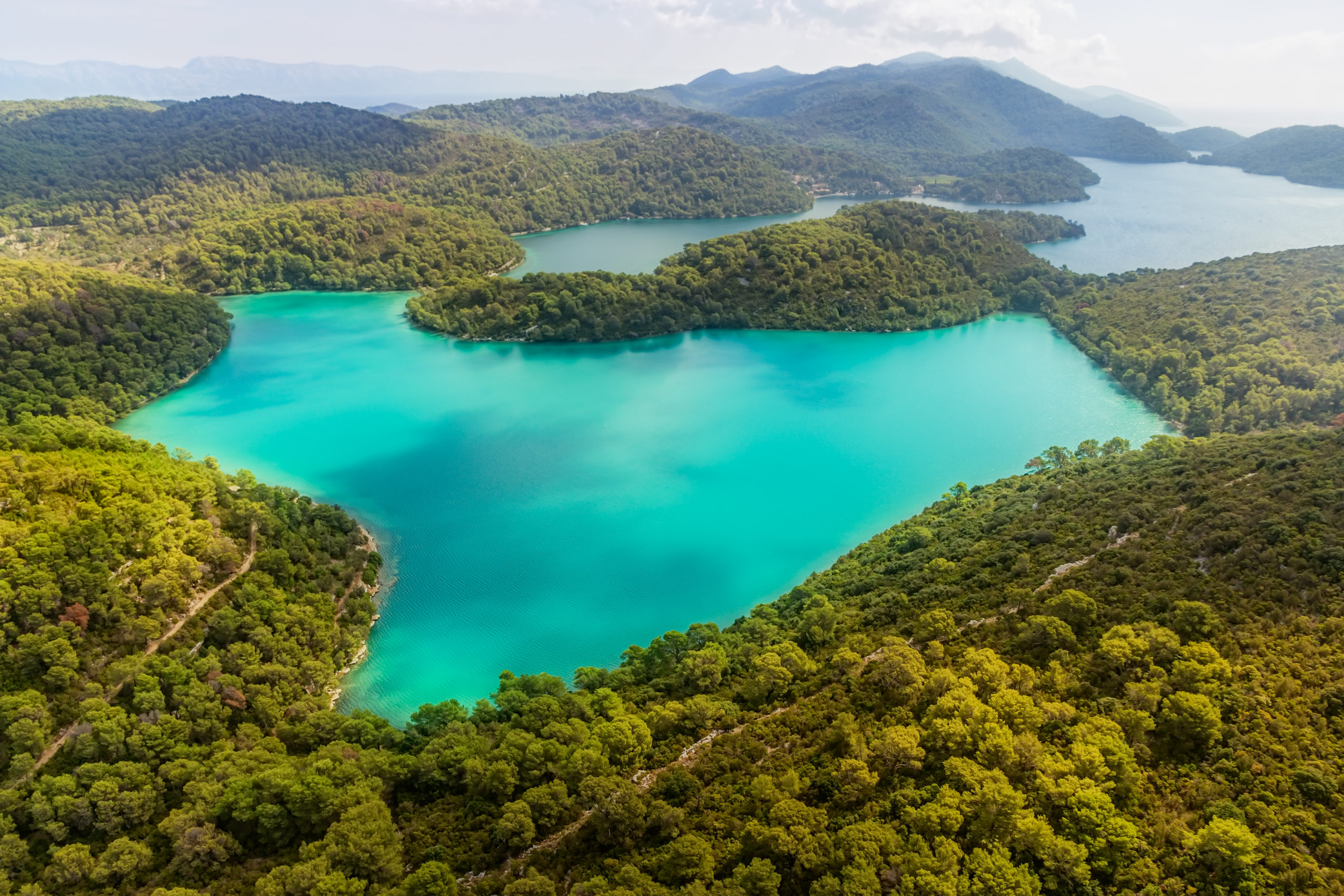 Visit the green island of Mljet on weekends in March