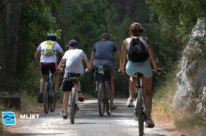 Sigurnost biciklista na području NP Mljet