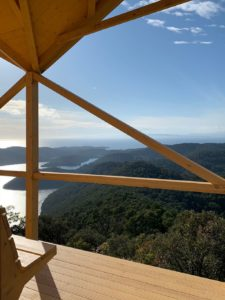 Fire lookout and scenic viewpoint Montokuc