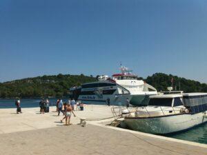 Katamaran Krilo kreće s plovidbom za NP Mljet