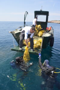 Akcija čišćenja podmorja otoka Mljeta