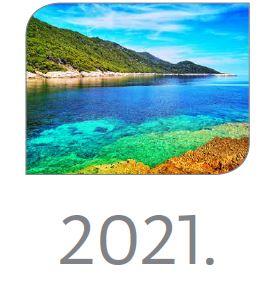 Kalendar NP Mljet za 2021. godinu