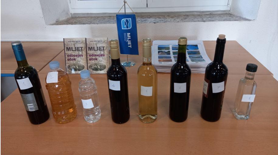 Održano kušanje i analiza mljetskih mladih vina, rakija i likera